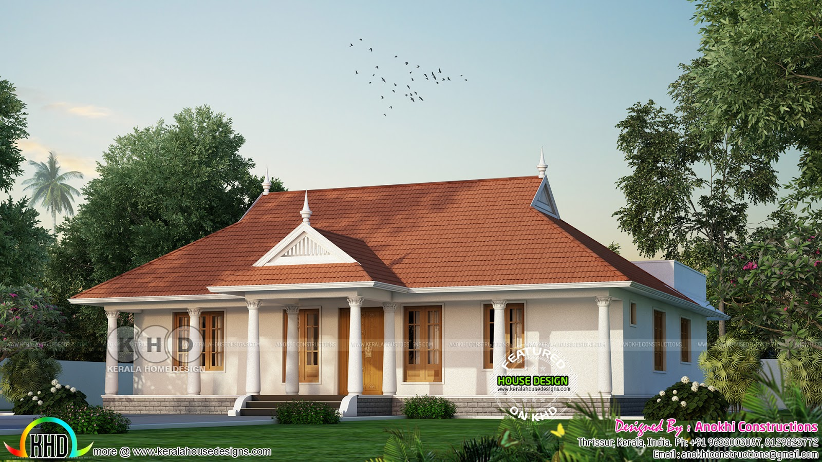 30 lakhs cost estimated traditional kerala home kerala for House plans with estimated cost to build in kerala
