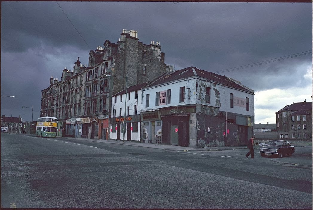 Raymond Depardon travel photography Glasgow, Scotland, 1980