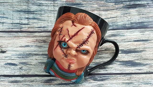 chucky doll polymer clay, horror movie