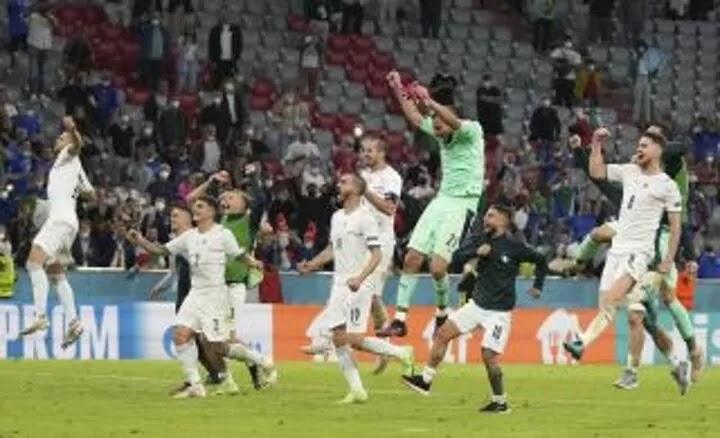 Italy outshine favourites Belgium to reach Euro 2020 semi-finals