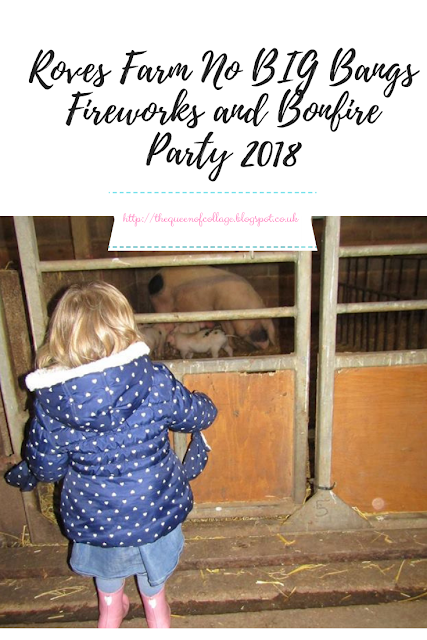 Roves Farm No BIG Bangs Fireworks and Bonfire Party 2018