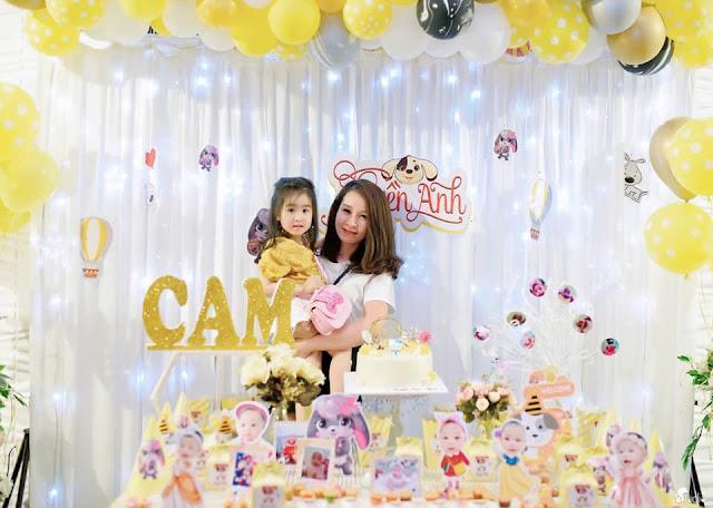 Trang trí sinh nhật cho bé tại Dịch Vọng - Cầu Giấy