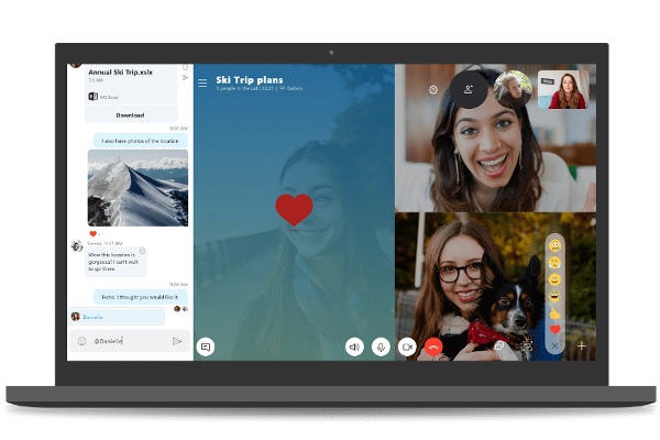 Skype 8.0 update released for desktop with HD video calls, Read receipts, Call recording, Mentions, Private conversations and more