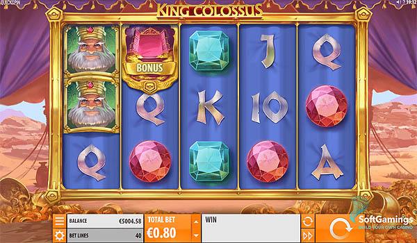 Main Slot Gratis Indonesia - King Colossus (Quickspin)