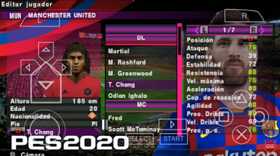 Texture eFootball PES 2020 Chelito Update 2020