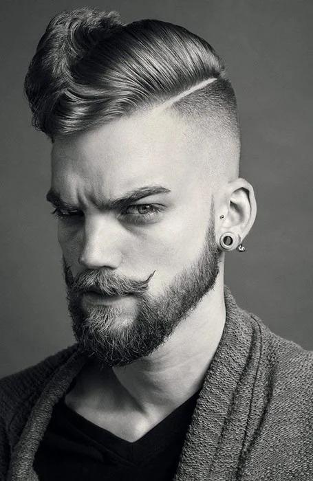 model rambut pria rapi