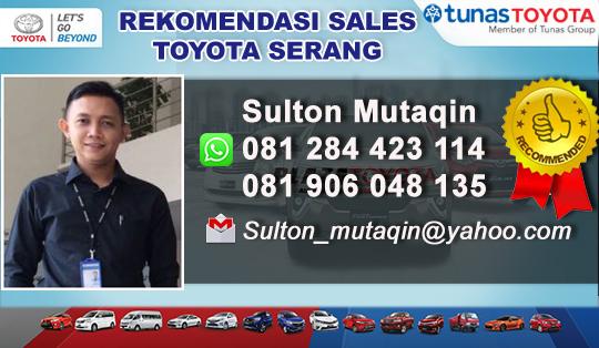 Rekomendasi Sales Toyota Cikande Tangerang Serang Banten