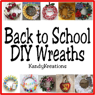 Looking to decorate your front door or wall with a fun Back to School Wreath? Check out these 10 DIY wreaths that you can do yourself and celebrate your kids going back to school.