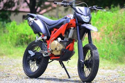 Modifikasi Adventure Motor Vixion