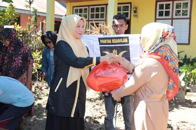 PKS Bolmut : Salurkan Bantuan untuk Korban Banjir