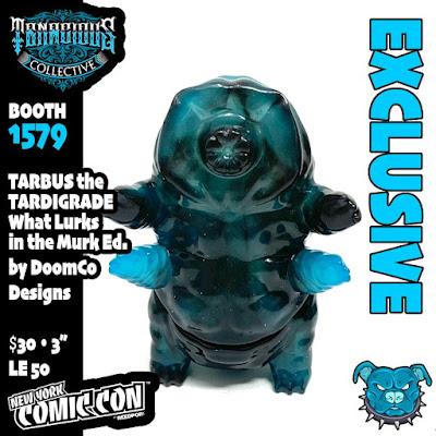 New York Comic Con 2021 Exclusive Tarbus the Tardigrade What Lurks in the Murk Edition Vinyl Figure by DoomCo Designs x Tenacious Toys