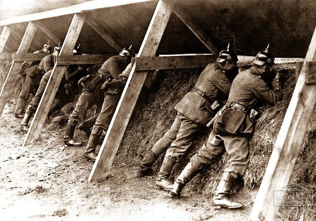 Γερμανοί στρατιώτες στο Δυτικό Μέτωπο