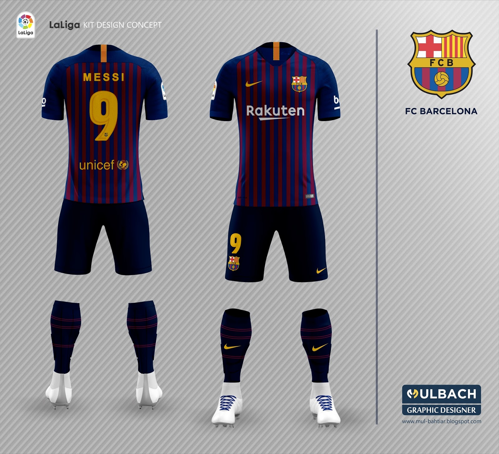new styles e0804 1ba2a FC BARCELONA 2018-2019 HOME KIT | Mul Bahtiar