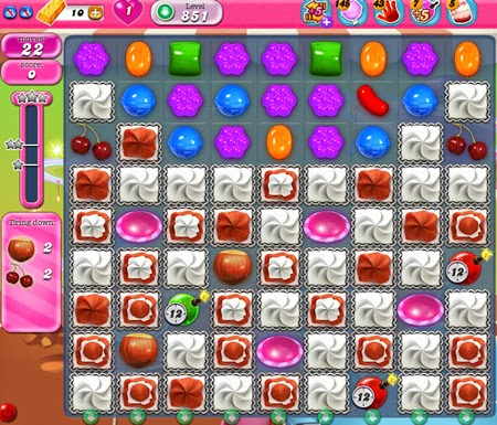Candy Crush Saga 851