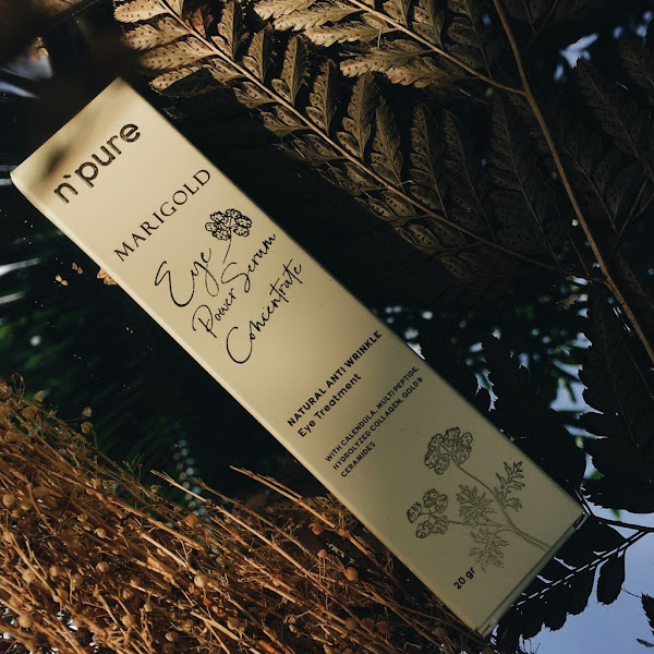 [Review] N'PURE Marigold Eye Serum Power Concentrate