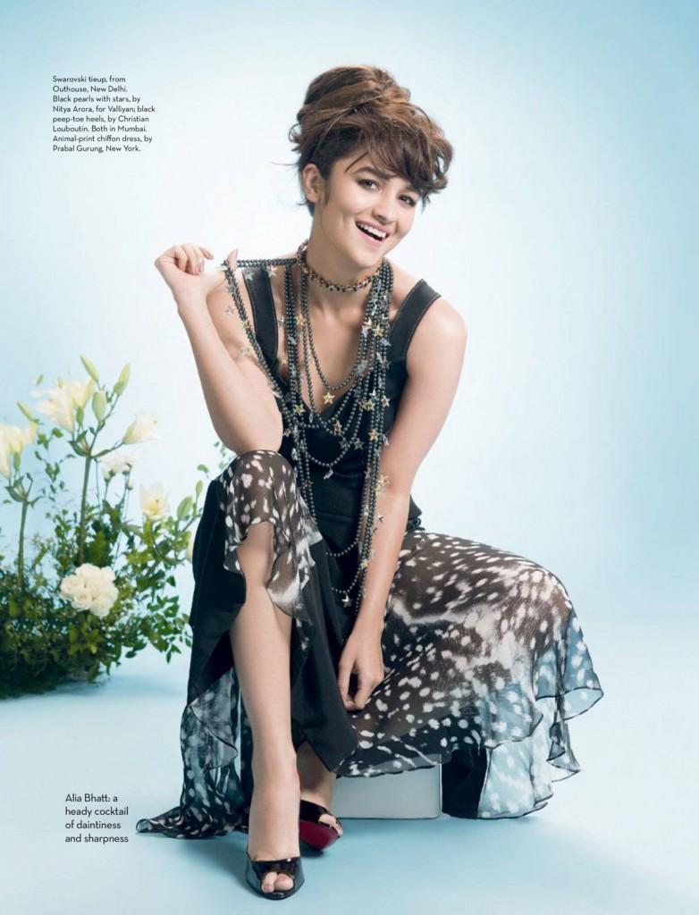 Alia Bhatt Sizzles On The Cover Of Verve Magazine October