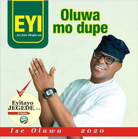 Goat destroys Eyitayo Jegede's poster