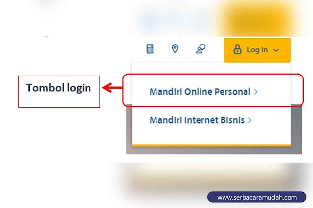 akses mandiri online via website