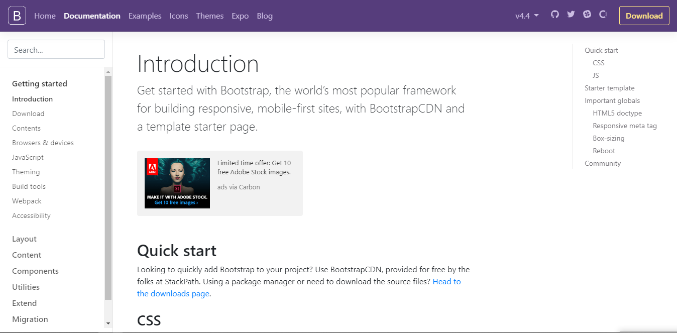 Download Gratis Template Framework Bootstrap Responsive Untuk Website