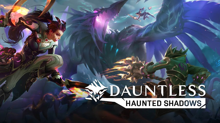dauntless haunted shadows content update pc epic games store ps4 xbox one free to play phoenix labs