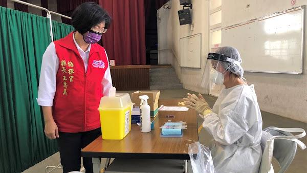 彰化縣70-74歲長者快打莫德納疫苗 區分時段避免群聚