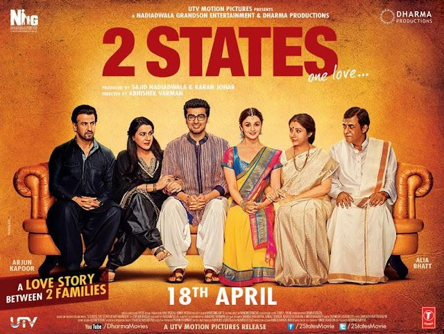 2 STATES ( FILEM HINDUSTAN ) - ARJUN KAPOOR, ALIA BHATT