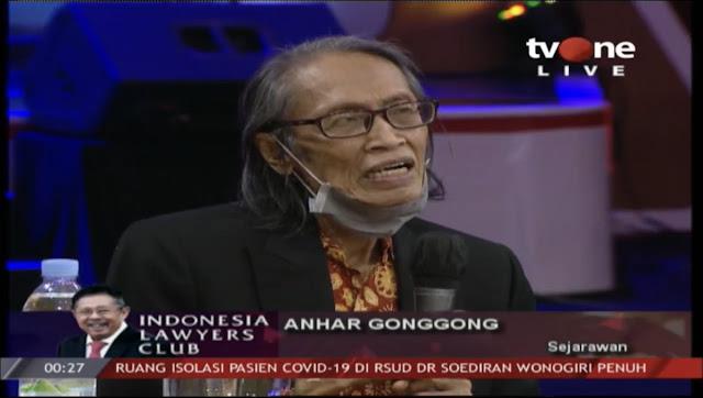 Sejarawan Anhar Gonggong Jamin Komunis Tidak Akan Pernah Mati