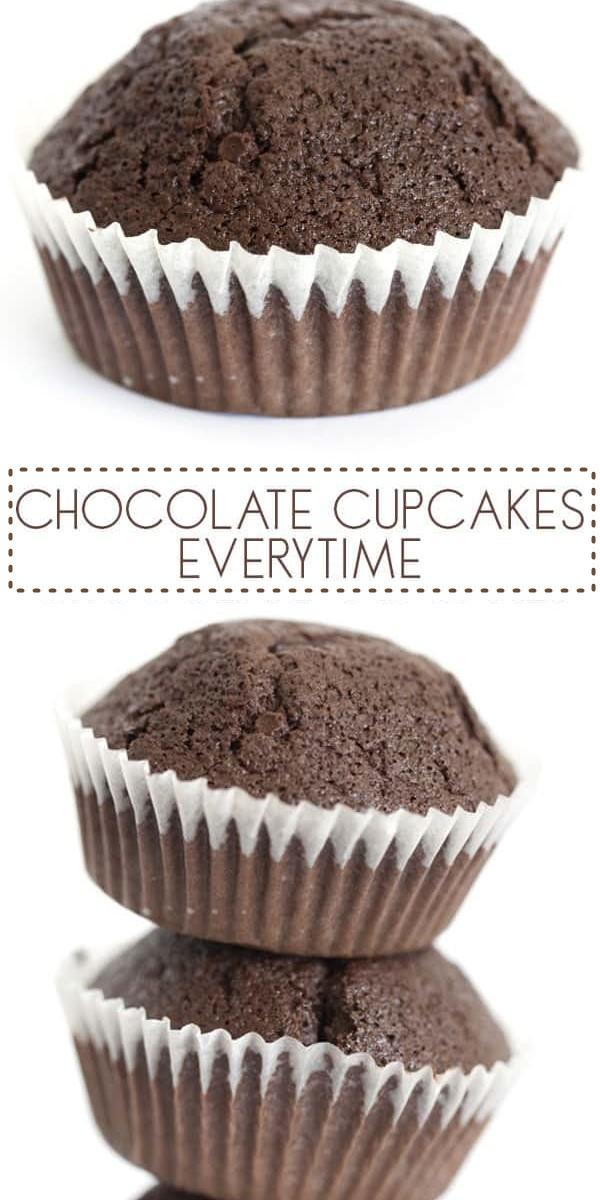 BASIC CHOCOLATE CUPCAKES RECIPE #cupcakerecipes