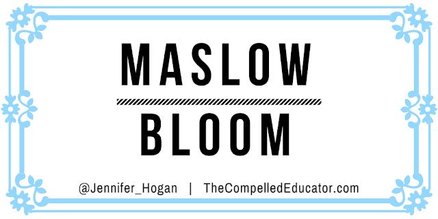 Maslow before Bloom by @Jennifer_Hogan