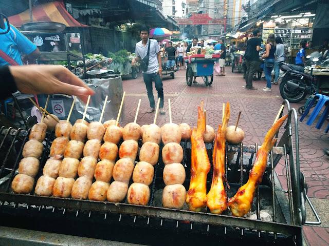 Bangkok Street Food China Town Thailand