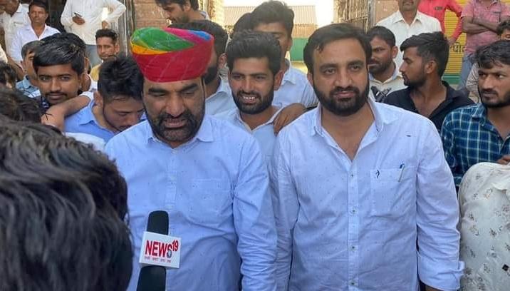 नागौर: महिला टीचर किडनैप - रेप की कोशिश के मामले पर,  सांसद Hanuman Beniwal ने दे डाली चेतावनी