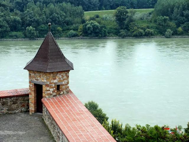 Vistas del Danubio desde el Castillo de Bratislava