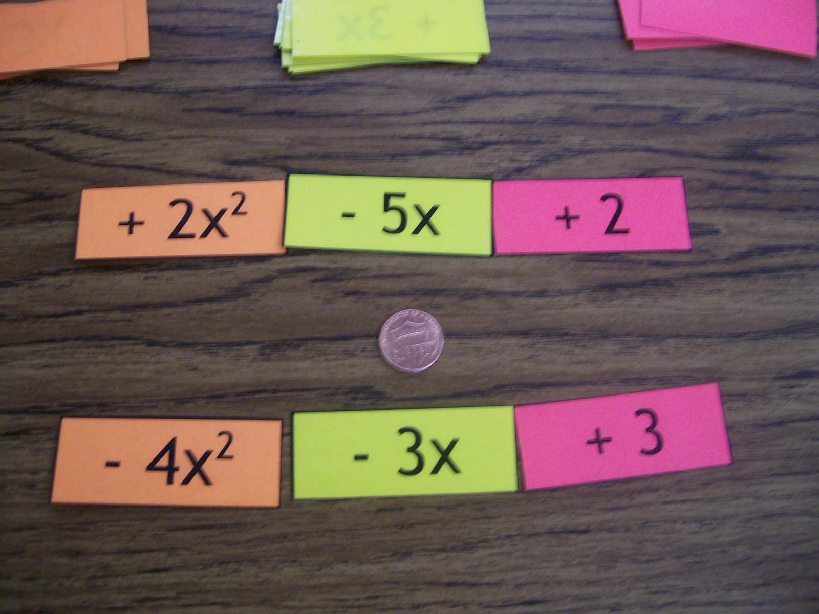 Adding And Subtracting Polynomials Activity