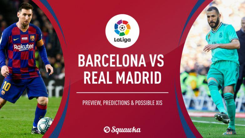 مشاهدة مباراة ريال مدريد وبرشلونة بث مباشر 18-12-2019