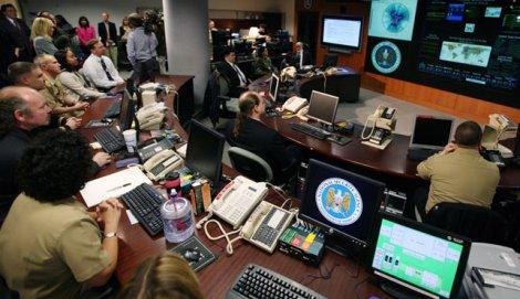 A NSA control room