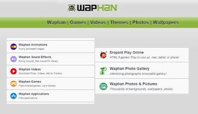 Download Waphan Games, Videos and Mp3 from www.waphan.com