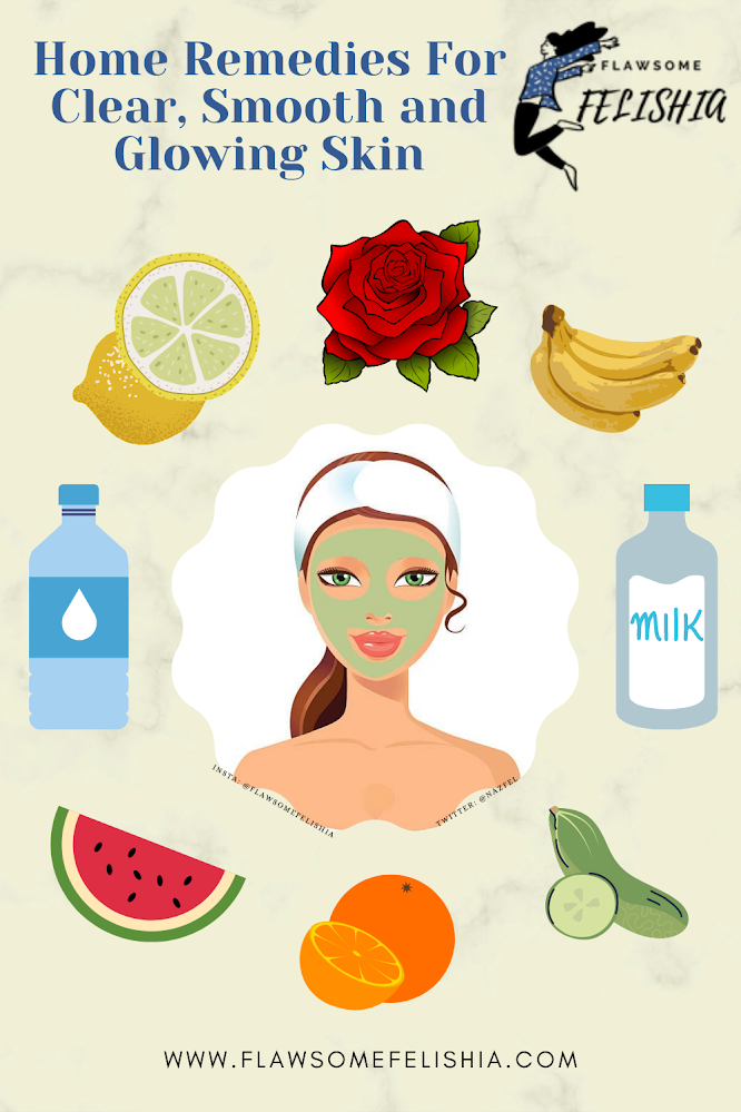 Skin Care Infographic Home Remedies