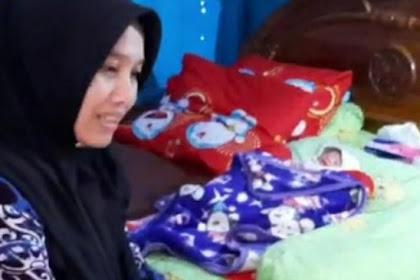 Wanita di Ciamis melahirkan tanpa tanda- tanda hamil