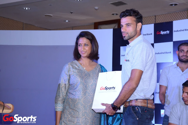 Smriti K. Singh CHRO Sony Pictures Networks India (SPN) seen with one of...