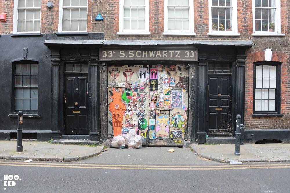 5 Street Art Hotspots for Paste-ups - Fournier Street