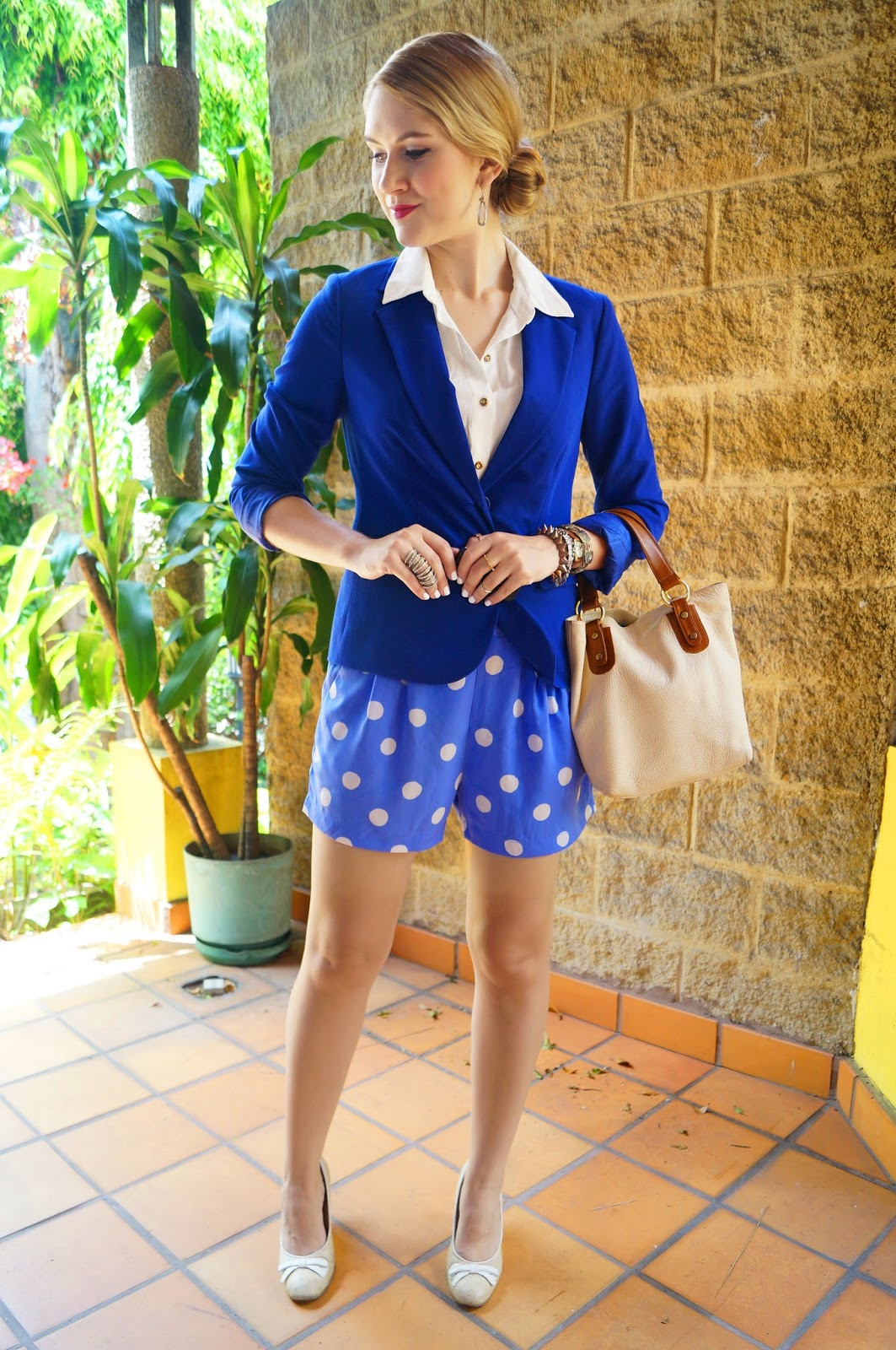 Shorts Suit Trend Outfit