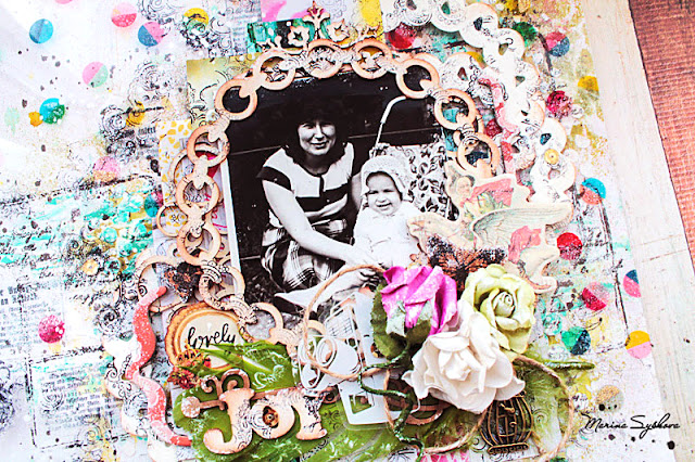 @marinasyskova #scrap #scrapbooking #mixedmedia #lo #layout