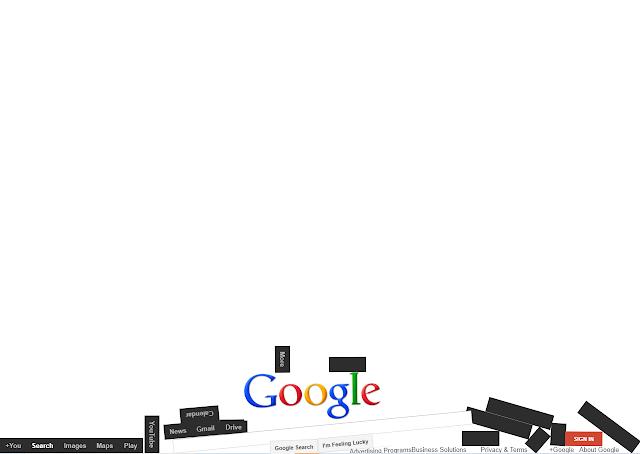 تأثير كلمة Google gravity في محرك البحث جوجل