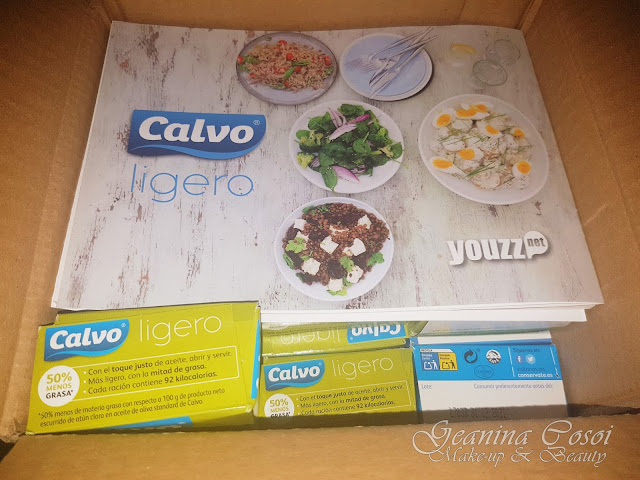 Probando el Atún Calvo Ligero gracias a Youzz!