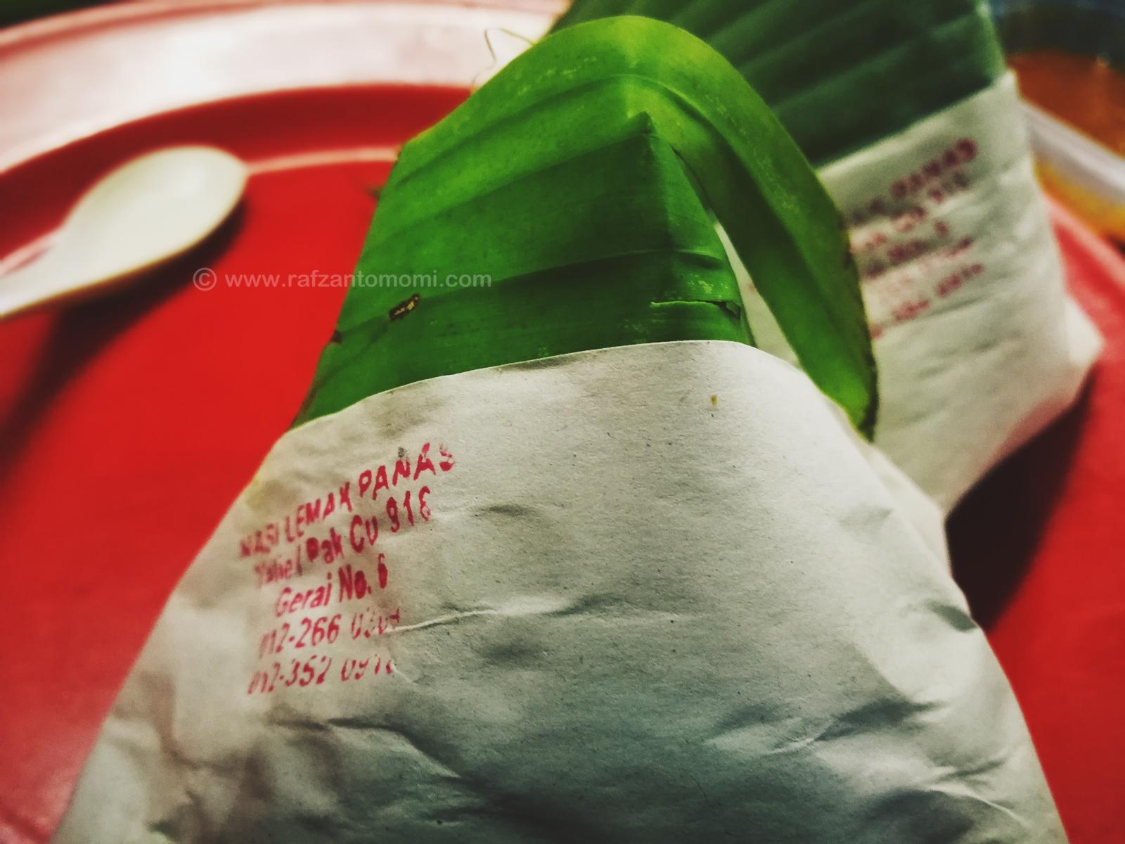 Nasi Lemak Panas Dekat Selera Jaya 223, Jalan Petaling