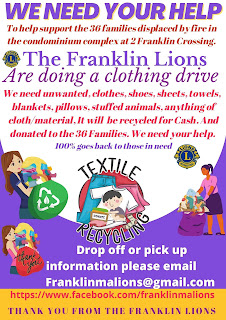 Clothing Drive for Franklin Crossing