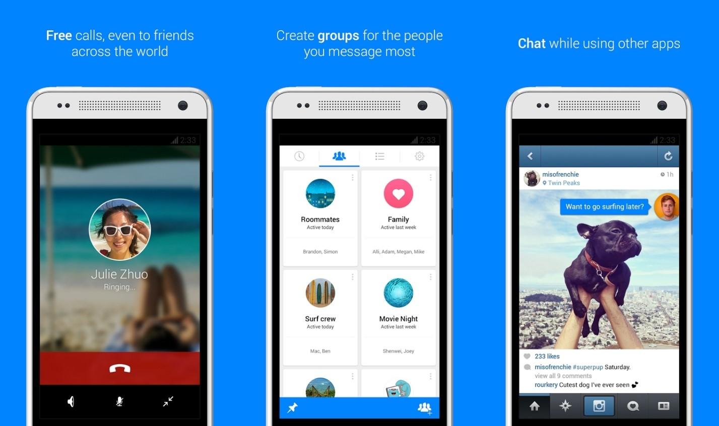 Aplikasi Chatting Yang Sedang Trending!