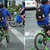 Dahil di Marunong mag-Bisekleta, Lalaki, naglagay ng Training Wheels makapasok lang sa Trabaho