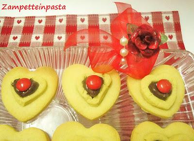 Cuori di pasta frolla - Biscotti facili per San Valentino
