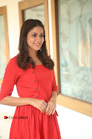 Actress Lavanya Tripathi Latest Pos in Red Dress at Radha Movie Success Meet .COM 0096.JPG
